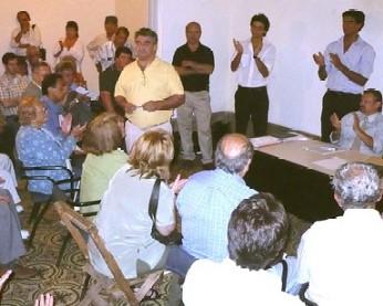 El 30 por ciento de los dirigentes sureños -de Vidalin- son canarios