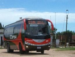 Logran línea de omnibuses que van de Montevideo a la villa Juanicó