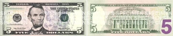 El nuevo billete de 5 dólares no circula aún en Uruguay