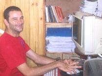 Aldo Camejo, discapacitado y sin embargo…