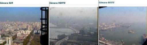 Ciudad de la Costa fue invadida ...por humo argentino