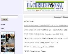 Puntos de venta del Diario EL CORRESPONSAL
