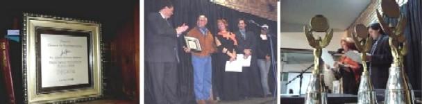 Entregaron los Premios Década y uno Especial fue para el diario El Corresponsal