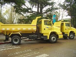 Más camiones para la Dirección General de Obras