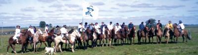 400 atravesaran Canelones a caballo en 3 días