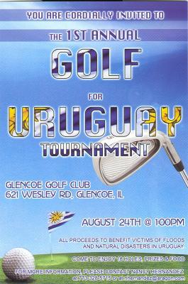 Jugando al golf, norteamericanos reunieron dinero, para mejorar el local de una escuela rural canaria