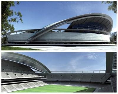 Peñarol tendría su estadio en el Parque Roosevelt