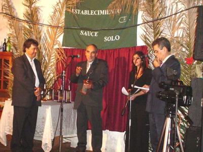 El artista Luis Haro recibió por segunda vez el Reconocimiento 2008