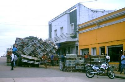 Proponen erradicar el tránsito pesado de la planta urbana sauceña