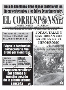 Salió y se puso a la venta EL CORRESPONSAL edición 80
