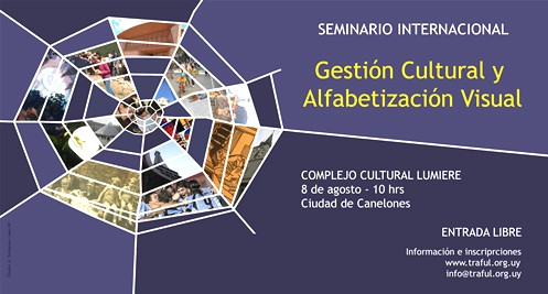 Traful realiza seminario internacional de gestión cultural y alfabetización visual