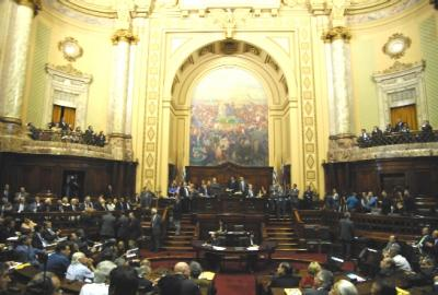¿Qué asuntos analizó hoy el Parlamento, y qué dijo el diputado que Ud votó?