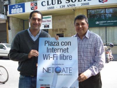 Inauguran primera plaza canaria con wi-fi de acceso libre y gratuito