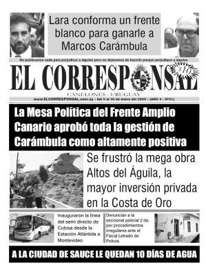 EL CORRESPONSAL 91