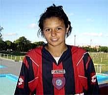 La primera jugadora de futbol que logra pase al futbol argentino es canaria