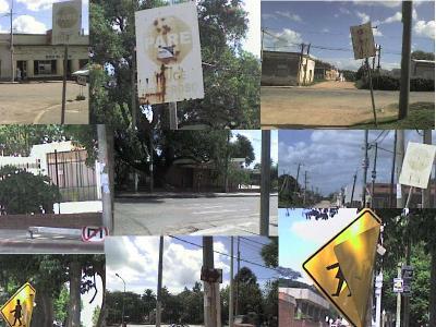 Señales de tránsito: pocas, malas y en pésimo estado