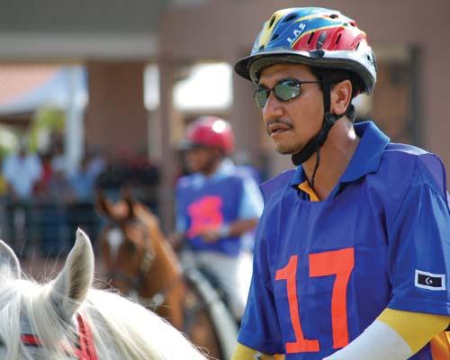 Viene el Rey de Malasia al lanzamiento del Panamericano de Endurance