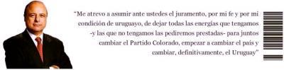 Alberto Iglesias, futigó el programa de gobierno del Frente Amplio