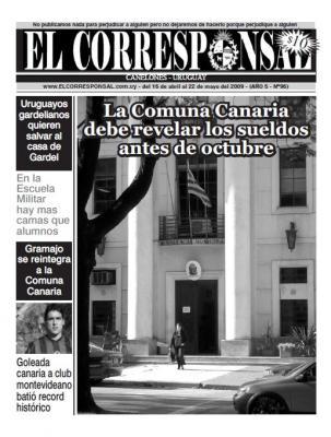 Salió EL CORRESPONSAL 96