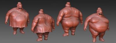 En vestimenta los empresarios: 1;  legisladores y gordos: 0