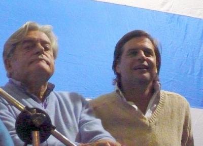 Lacalle Herrera anunció planes de gobierno concretos para Canelones y Lacalle Pou advirtió del sindrome de Susan Boyle